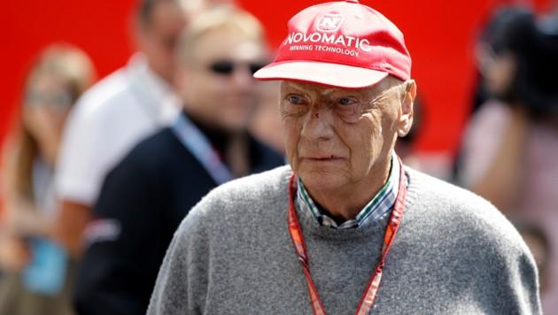 Niki Lauda (Bild: AP)