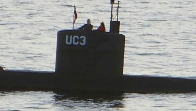 Kim Wall soll am 10. August 2107 an Bord der UC3 Nautilus abgelichtet worden sein. (Bild: AFP)