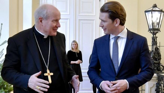 Kurz sprach mit Schönborn über verfolgte Christen