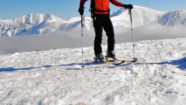 Auf Skitouren sollte weiter verzichtet werden! (Symbolbild) (Bild: Paul Sodamin)