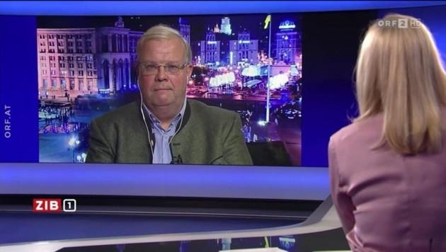 ORF-Korrespondent Christian Wehrschütz will auch in Zukunft - trotz der Drohung durch Ultranationalisten - aus der Ukraine berichten. (Bild: tvthek.orf.at)