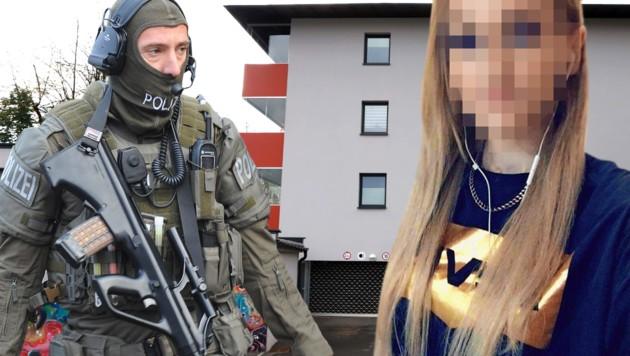 Irene P. wurde im Oktober im Eingangsbereich ihrer Wohnung in Zell am See erschossen aufgefunden. (Bild: APA/privat/krone.at-Grafik)
