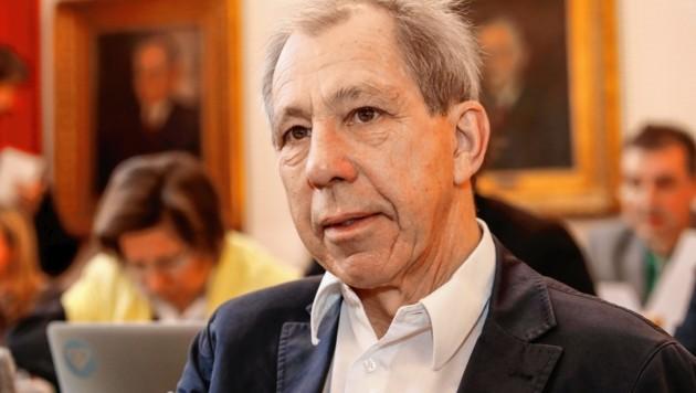 Cyriak Schwaighofer war 20 Jahre für die Grünen im Landtag. (Bild: Markus Tschepp)