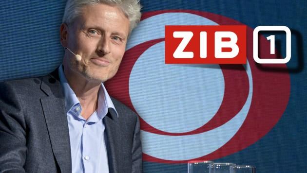 """Kabarettist und """"Standard""""-Kolumnist Florian Scheuba: Werbung via ORF? (Bild: APA/HERBERT NEUBAUER, ORF, krone.at-Grafik)"""