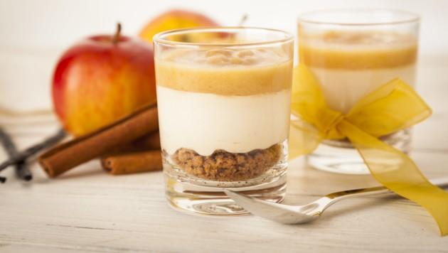 Ein Spekulatius-Dessert ist die ideale Verwertung für übrig gebliebene Kekse. (Bild: ©eyewave - stock.adobe.com)