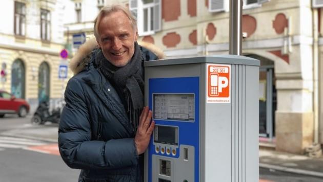 Grazer VP-Finanzstadtrat Günter Riegler - Parken wird teurer. (Bild: ÖVP Graz)