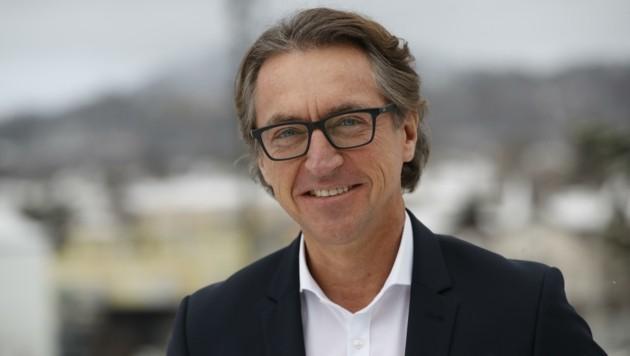 Vorstandssprecher Leonhard Schitter wurde am Donnerstag vom Aufsichtsrat wiederbestellt (Bild: Tschepp Markus)
