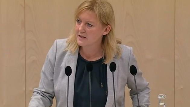 Sandra Kern (ÖVP) (Bild: Screenshot/ORF)