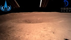 So sieht die Rückseite des Mondes aus. (Bild: CNSA)