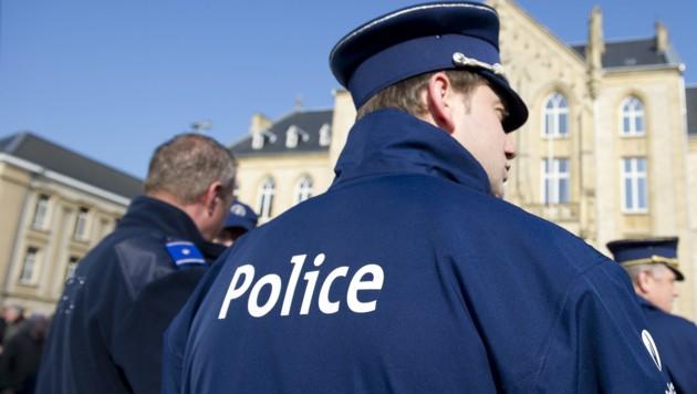 Belgische Polizei (Symbolbild) (Bild: AFP)