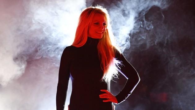 """Britney bei der Ankündigung ihrer neuen Show """"Domination"""" in Las Vegas. (Bild: AFP)"""