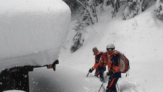 Die Bergretter suchten nach dem Vermissten. (Bild: Bergrettung)