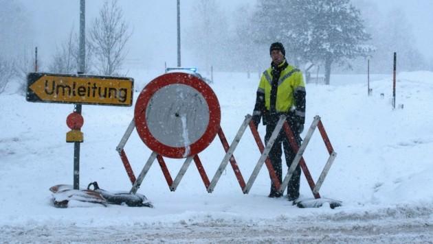 Schnee Und Sturm Sorgen Für Lange Liste An Sperren Kroneat