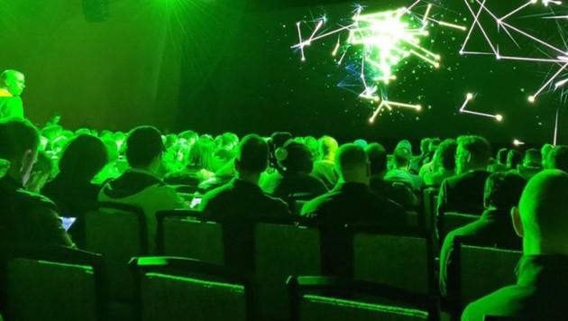 Großer Andrang bei der Nvidia-Pressekonferenz auf der CES 2019