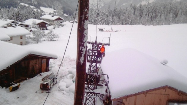 Auch hier: Der Strom soll wieder fließen. (Bild: Salzburg AG)