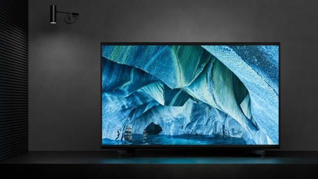 Sonys erster 8K-TV ZG9 kommt mit 85 oder 98 Zoll Diagonale ins Wohnzimmer.