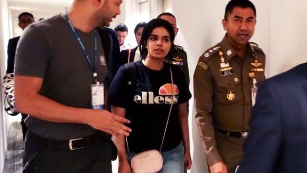 Rahaf Mohammed Al-Qunun (Bild: AFP)