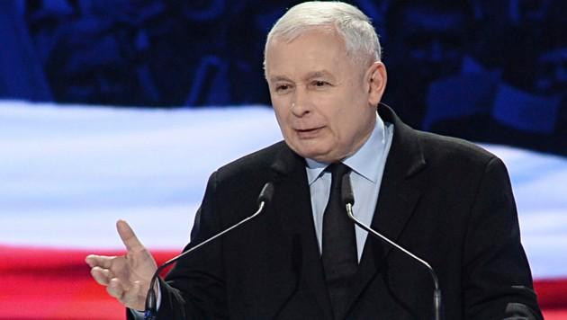 Jaroslaw Kaczynski, Chef der polnischen Regierungspartei PiS (Bild: The Associated Press)
