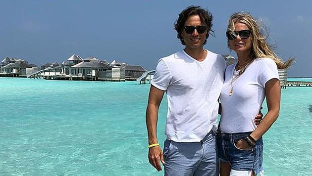 Gwyneth Paltrow und Brad Falchuk flitterten auf den Malediven. (Bild: instagram.com/gwynethpaltrow)