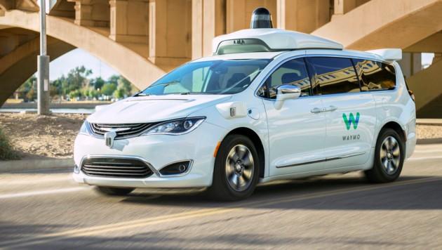 Ein selbstfahrendes Auto der Google-Schwester Waymo (Bild: Waymo)