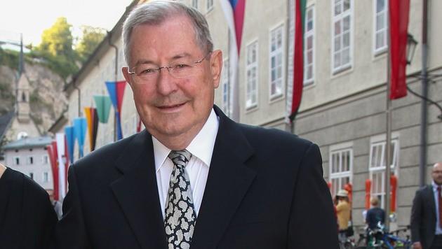 Der ehemalige Generaldirektor der Raiffeisenlandesbank Oberösterreich, Ludwig Scharinger (Bild: APA/Neumayr/MMV)
