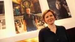 Outet sich als Schwarzenegger-Fan - Judith Schwentner, die neue Stadträtin der Grazer Grünen. (Bild: Jauschowetz Christian)