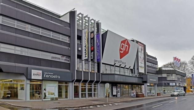 In der ersten Etage des Gerstl-Hauses in der Pollheimerstraße wird im Sommer Österreichs größte Tanzschule mit sieben Sälen eröffnen. (Bild: Wenzel Markus)