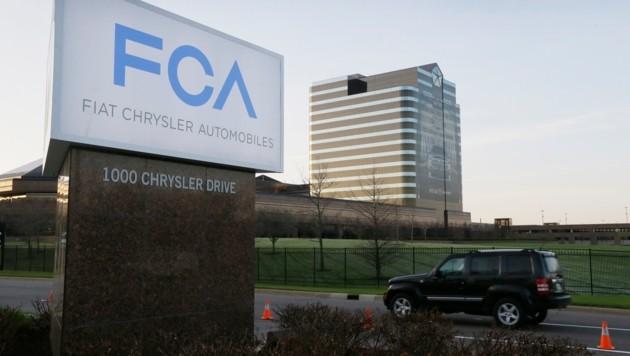 Die Zentrale von Fiat Chrysler in Auburn Hills im US-Bundesstaat Michigan (Bild: Associated Press)