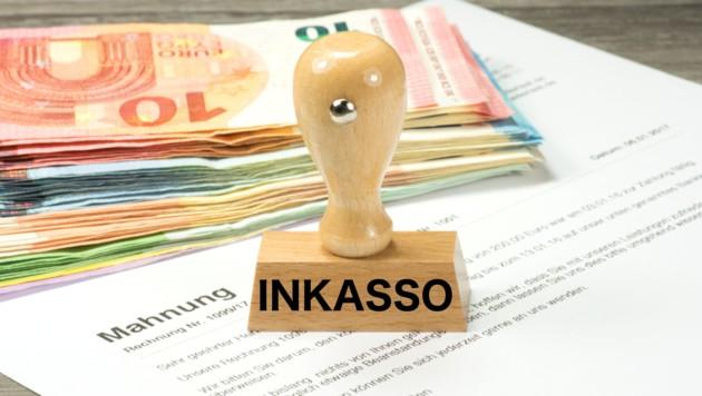 Eine Leserin aus Niederösterreich erhielt eine Inkasso-Mahnung (Symbolbild). (Bild: ©stadtratte - stock.adobe.com)
