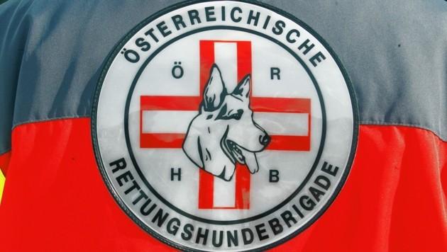 Die Rettungshundebrigade wurde zu einer Suchaktion gerufen (Bild: Kronen Zeitung)