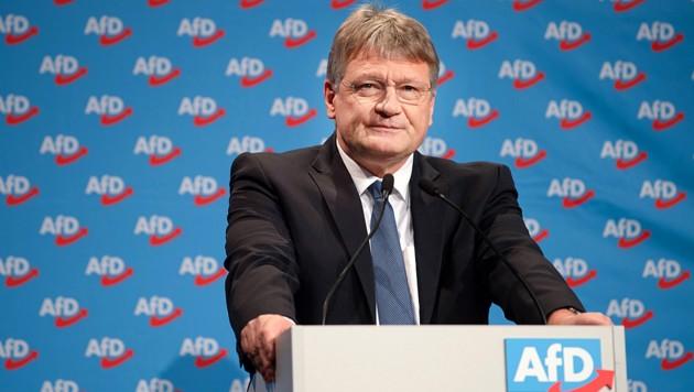 AfD-Co-Vorsitzender Jörg Meuthen (Bild: AFP)