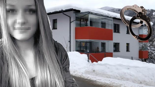 Irene P. (20) wurde am 20. Oktober im Stiegenhaus ihres Wohnhauses in Zell am See erschossen. (Bild: Roland Hoelzl)