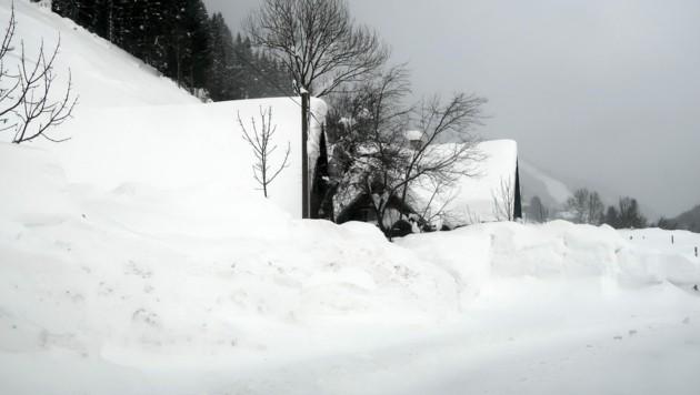 Schneemassen in Radmer