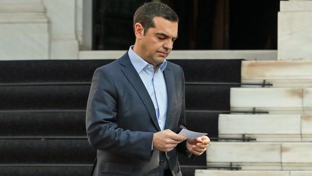 Griechenlands Ministerpräsident Alexis Tsipras (Bild: AP)