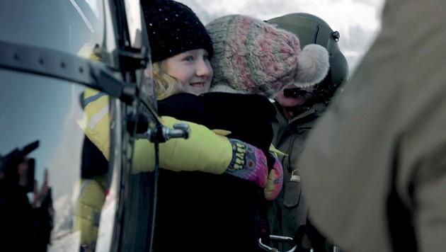 Das Video: Bundesheer vereint Laura und ihre Mama