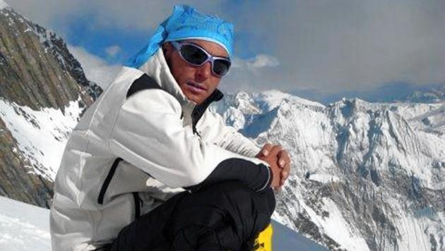 Top-Alpinist Roland Newerkla (Bild: Newerkla)