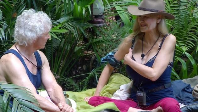 Sibylle Rauch packte im Dschungelcamp über ihre bewegte Vergangenheit aus. (Bild: MG RTL D)
