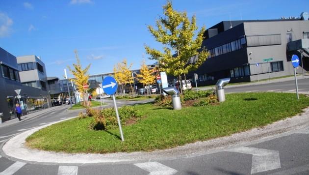 Auch eine Station beim Klinikum Klagenfurt wäre günstig. (Bild: Uta Rojsek-Wiedergut)