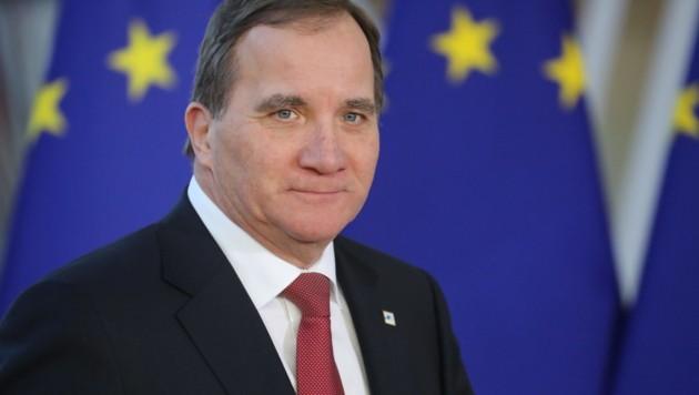 Schwedens Ministerpräsident Stefan Löfven (Bild: AFP)