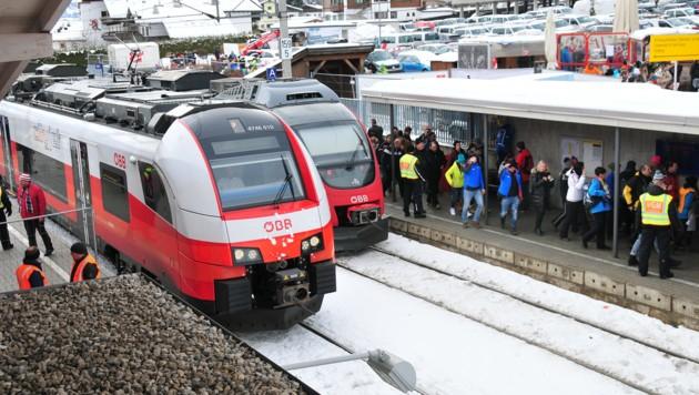 Der Bahnhof Hahnenkamm wird zur Drehscheibe. (Bild: ÖBB)