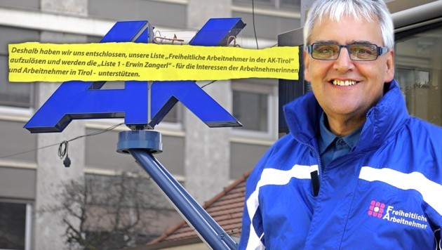 FA-Fraktionsobmann Franz Ebster (Bild: APA/Thomas Boehm, zVg, facebook.com, krone.at-Grafik)
