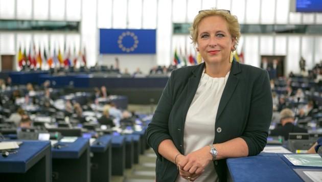 Die Salzburgerin Claudia Schmidt ist seit 2014 EU-Abgeordnete der ÖVP. (Bild: Martin Lahousse)