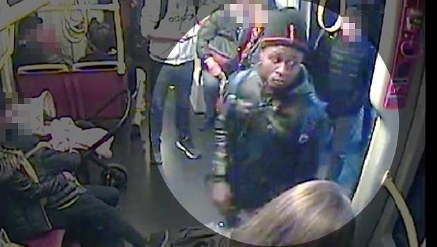 Die Polizei sucht nach diesem Mann, der einen Polizisten schwer verletzt haben soll. (Bild: BPD Wien)