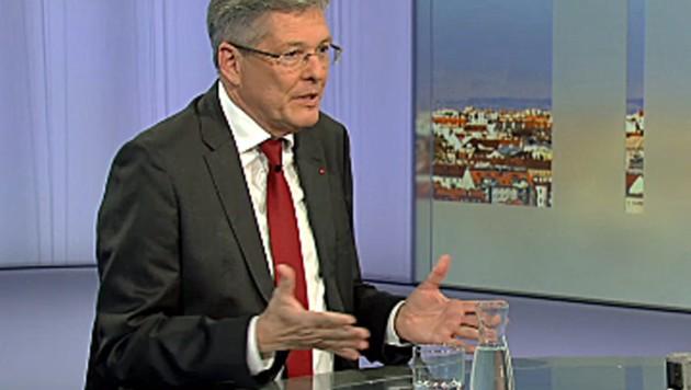 Kärntens Landeshauptmann Peter Kaiser (SPÖ) (Bild: Screenshot/ORF)