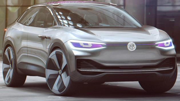Volkswagen-Showcar ID CROZZ (Bild: Volkswagen)