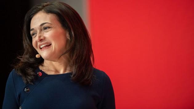 Sheryl Sandberg (Bild: AFP)
