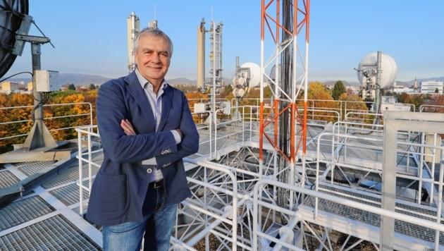 Gerhard Draxler (66) geht in Pension: 30 Jahre lang, 22 davon in der Steiermark, war er höchst erfolgreich für den ORF tätig (Bild: Sepp Pail)