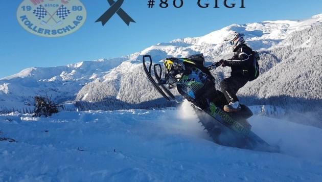 Erst im Jänner starb der 22-jährige Christoph B. aus Kollerschlag bei einem Skidoo-Rennen. (Bild: MSC Kollerschlag)
