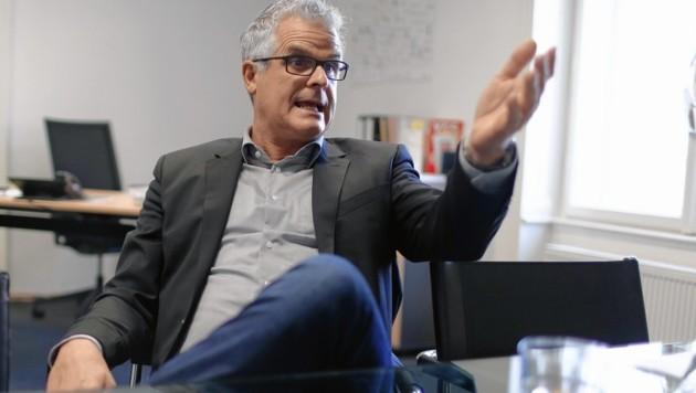 Ex-ORF-Star Wolfram Pirchner (Bild: Gerhard Bartel)