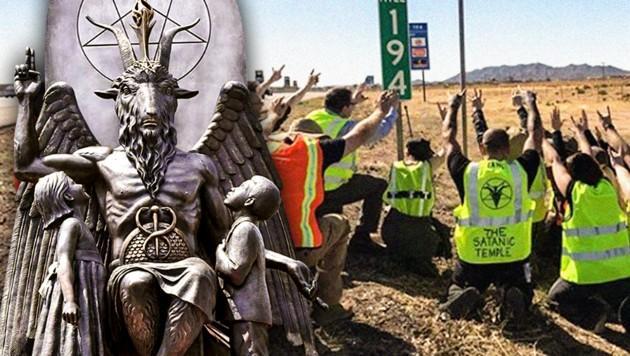 """In USA auf Vormarsch: """"Satanisten"""", die aber nicht den Teufel anbeten"""